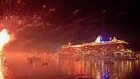 Feuerwerk Kiel Hafen