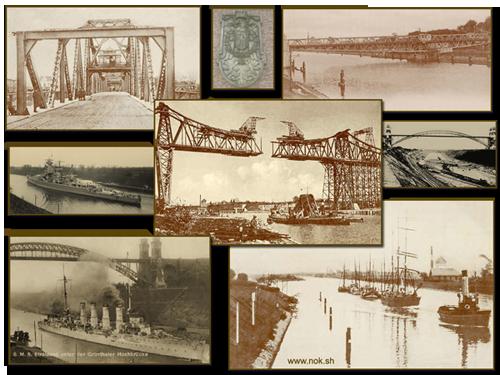 Historische Bilder des Nord-Ostsee-Kanals